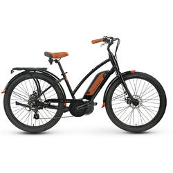 Raleigh Electric Retroglide iE Step Thru Black