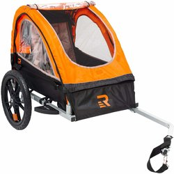 Retrospec Rover One Passenger Children's Foldable Bike Trailer