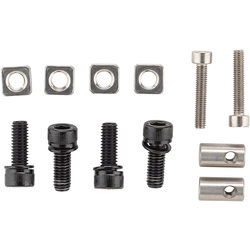 Salsa Alternator Flat Mount Hardware Kit