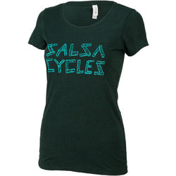 Salsa Barnwood Logo Women's T-Shirt