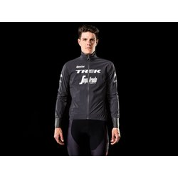 Santini Trek-Segafredo Men's Team Packable Waterproof Cycling Jacket