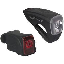 Serfas USB Rechargeable Combo Light Pack