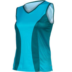 Shebeest Easy V Dots Sleeveless Plus Jersey - Women's