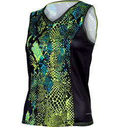 Shebeest Easy V Python Sleeveless Plus Jersey - Women's
