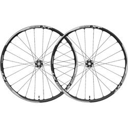 Shimano Deore XT Cross Country Disc Tubeless Wheelset (15mm through-axle front, QR rear)