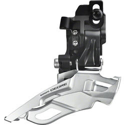 Shimano Deore 10-Speed Dual-Pull Triple Front Derailleur (Down Swing,Direct Mount)