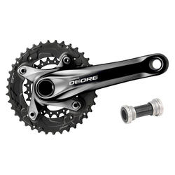 Shimano Deore 10-speed Double Crankset