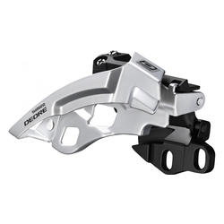Shimano Deore 10-Speed Dual-Pull Triple Front Derailleur (Top Swing, E-Type)