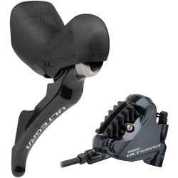 Shimano DEAL Ultegra 2x11 Speed Shift Lever Set with Calipers