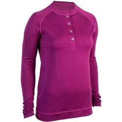 Showers Pass Long-Sleeve Bamboo-Merino Henley - Women's