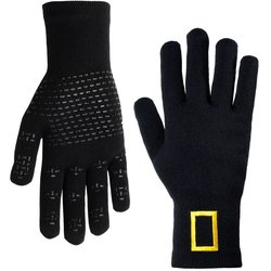 Showers Pass National Geographic Knit Waterproof Gloves Wool-Blend