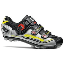 Sidi MTB Dominator 7 Black//Silver/Yellow