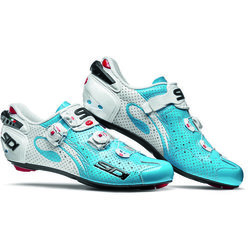 Sidi Wire Carbon Sky Blue/White