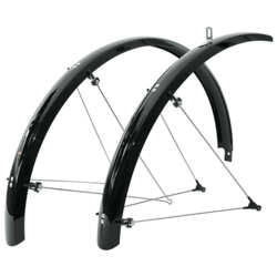 SKS B45 20-inch Commuter II (Bluemel) Fender Set, For Recumbent / Folding Bike
