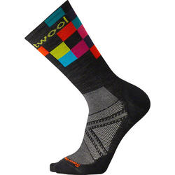 Smartwool Men's PhD Cycle Ultra Light Logo Crew Sock