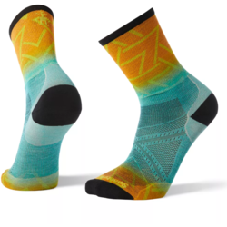Smartwool PhD Run Ultra Light Print Crew Socks