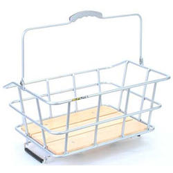 Sunlite Woody Quick Release Rack Top Basket