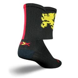 SockGuy SGX 6-inch Socks (Lion Gold)