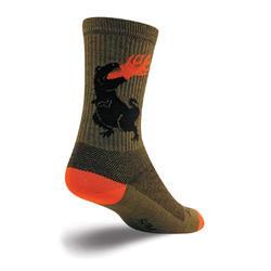 SockGuy Wool Socks (Dinosaur)