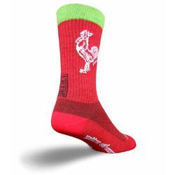 SockGuy Wool Socks (Sriracha)