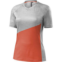 Specialized Women's Andorra Comp Jersey - Neon/Coral