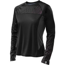 Specialized Andorra Comp Long Sleeve Jersey - Women's - Black/Carbon