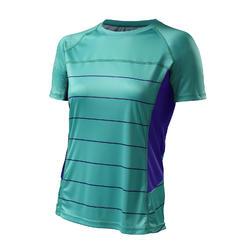 Specialized Andorra Comp Short Sleeve Jersey - Women's - Emerald/Indigo