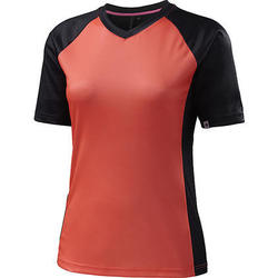 Specialized Andorra Comp Short Sleeve Jersey - Women's - Carbon Grey/Neon Coral