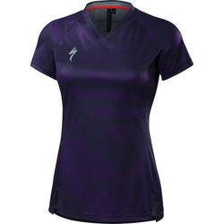 Specialized Andorra Short Sleeve Jersey - Deep Indigo/Primal Geo