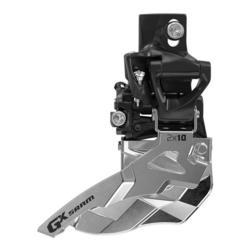 SRAM GX 2x10 Front Derailleur<br>(High Direct-mount, Top-pull)