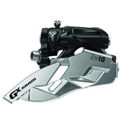 SRAM GX 2x10 Front Derailleur (Low Direct-mount, Dual-pull)