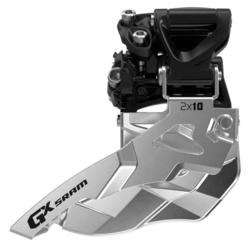 SRAM GX 2x10 Front Derailleur (Mid Direct-mount, Top-pull)