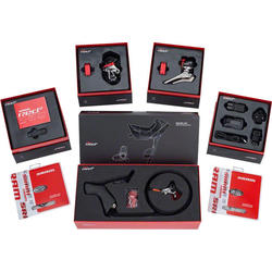 SRAM Red eTap Group with Hydraulic Disc Brakes