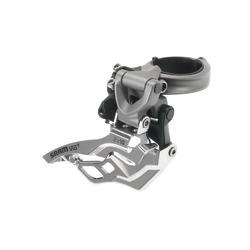 SRAM VIA GT 2x10 Front Derailleur (High-clamp, Dual-pull)