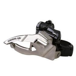 SRAM X0 3x10 Front Derailleur<br>(High-clamp, Bottom-pull)