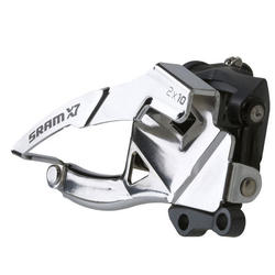 SRAM X7 2x10 Front Derailleur (High Direct-mount, Bottom-pull, 36/38T Max)