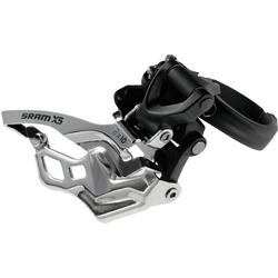 SRAM X5 2x10 Front Derailleur (Low-clamp, Dual-pull)