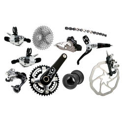 SRAM X0 2x10 Components Kit (BB30 Bottom Bracket)