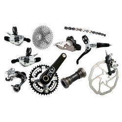 SRAM X0 2x10 Components Kit (GXP Bottom Bracket)