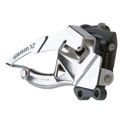 SRAM X7 2x10 Front Derailleur (Low Direct-mount, Dual-pull) 38/36T