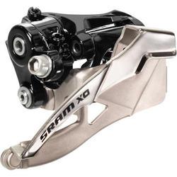 SRAM X0 2x10 Front Derailleur (High-clamp, Dual-pull)