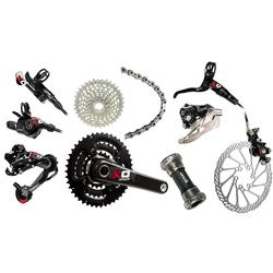 SRAM X0 Components Kit (3 x 10-speed, GXP Bottom Bracket)