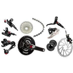 SRAM X0 Components Kit (3 x 10-speed, BB30 Bottom Bracket)