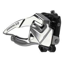 SRAM X9 3x10 Front Derailleur (Low Direct-mount, Bottom-pull)