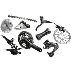 SRAM X9 Components Kit (3 x 10-speed, GXP Bottom Bracket)