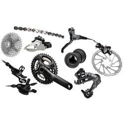 SRAM X9 Components Kit (2x10-speed, BB30 Bottom Bracket)