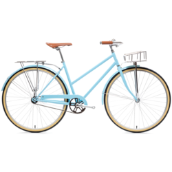 State Bicycle Co. City Bike - The Azure Deluxe Single Speed
