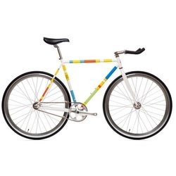 State Bicycle Co. The Simpsons Color Block Bike (4130 Core-Line)