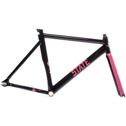 State Bicycle Co. The Simpson x State Bicycle Co - Donut Undefeated Frame & Fork Set