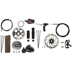 Sun Bicycles Disc Brake Conversion Kit, 7-Speed
